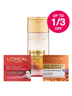Save up to 1/3 on L'Oreal