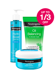 Save up to 1/3 on selected Neutrogena