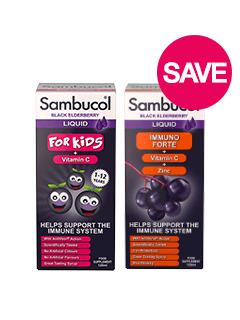 Save on selected Sambucol
