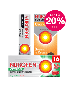 Save up to 20% on Nurofen