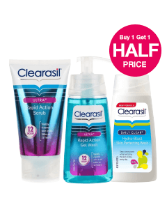Buy 1 get 2nd Half Price on Clearasil