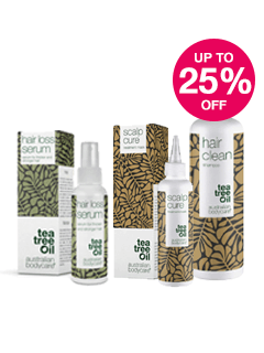 Save up to 25% on selected Australian Bodycare