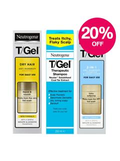 Save 20% on Neutrogena T/Gel