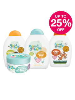 Save up to 25% on selected Good Bubble