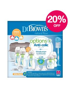 Save 20% on Dr Brown