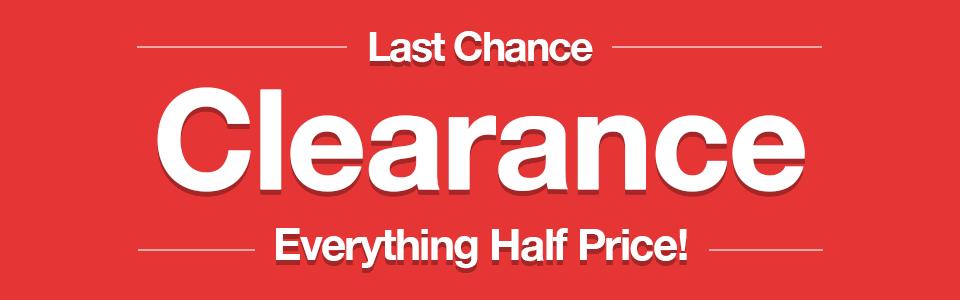Everything Half Price