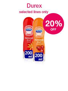 20% off selected Durex