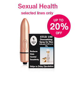 20% off selected Sexual Health