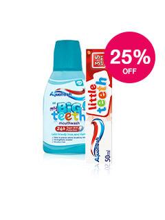 25% off Aquafresh Kids