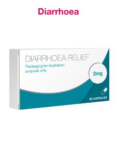 Loperamide 2mg Diarrhoea Relief Capsules