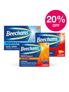 Save 20% on Beechams