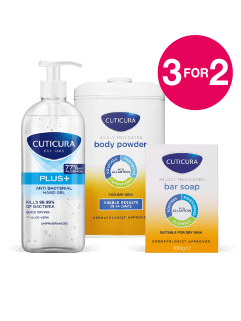 3 for 2 on Cuticura