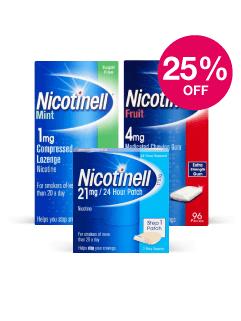 Save 25% on Nicotinell