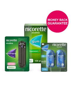 Nicorette Money Back Guarantee