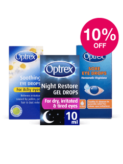 Save 10% on Optrex Drops ex Hayfever