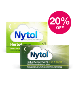 Save 20% on selected Nytol