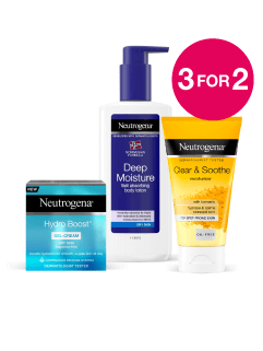 3 for 2 on Neutrogena