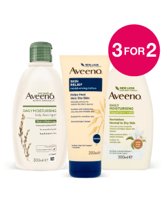 3 for 2 on  Aveeno
