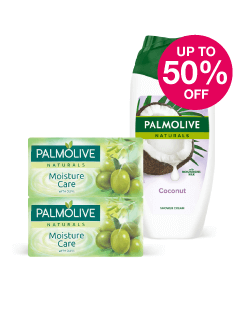 Save up to half price on selected Palmolive