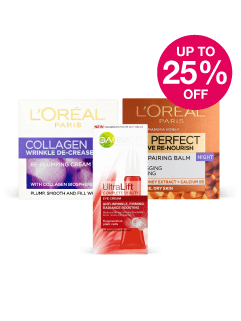 Save up to 25% on L'Oreal & Garnier