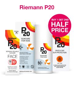 Buy 1 get 2nd half price on P20