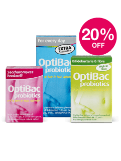 Save 20% on Optibac