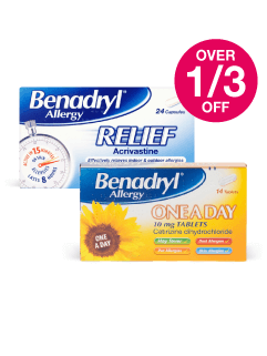 Save over 1/3 on Benadryl