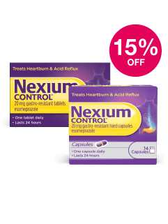 Save 15% on Nexium