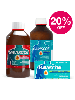 Save 20% on Gaviscon
