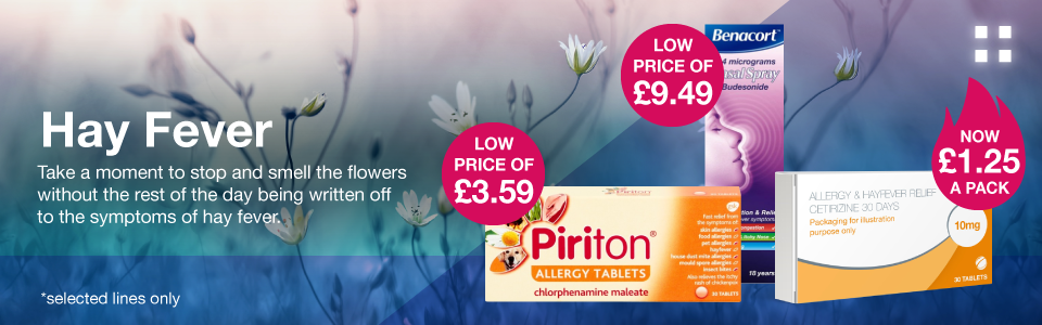 Save 25% on Hay Fever