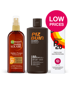 Everyday Low Prices on Suncare