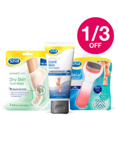 Save 1/3 on Scholl