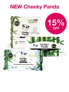 NEW Save 15% on Cheeky Panda