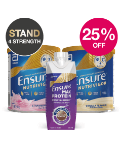 Save 25% on Ensure Nutrivigor and Max