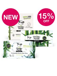 Save 15% on Cheeky Panda