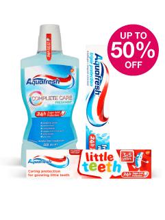 Save up to 50% on Aquafresh