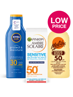 Everyday low price on Sun protection