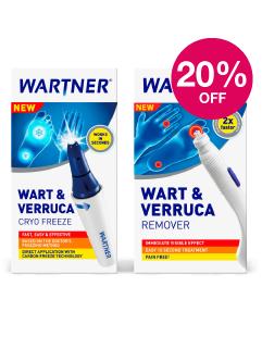 Save 20% on Wartner