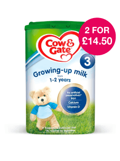 Save on Cow & Gate Growing Up Milk