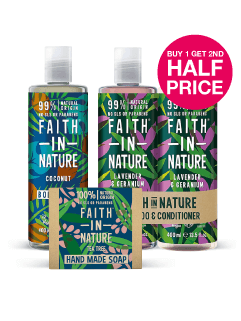 Save on Faith In Nature