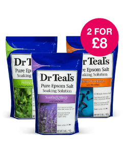 2 for £8 on Dr Teals