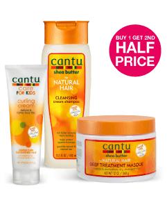 Buy 1 Get 2nd Half Price on Cantu