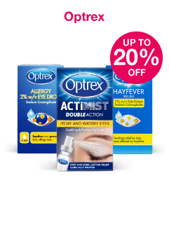 Save up to 20% on Optrex