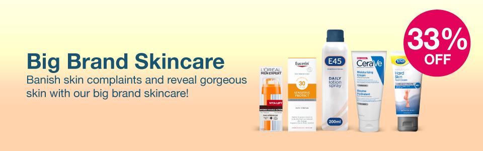 Big Brand Skincare | 1/3 off