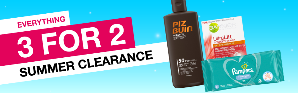 Summer Clearance | 3 for 2
