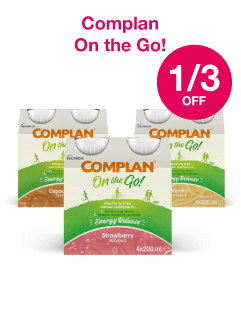 Save 1/3 on Complan Ready to Go