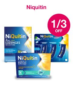 Save 1/3 on Niquitin