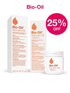 Save 25% on Bio OIl