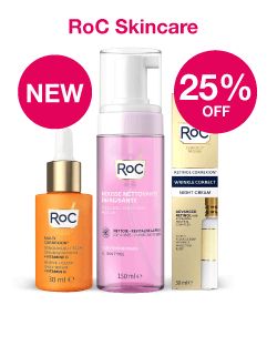 NEW- RoC Skincare + Save 25%