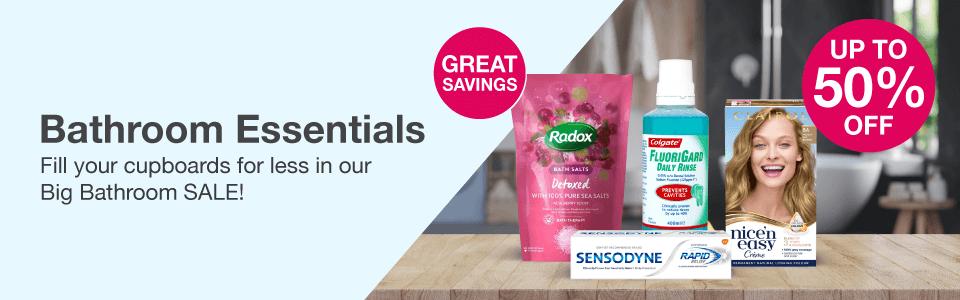 Bathroom Essentials | 50% off